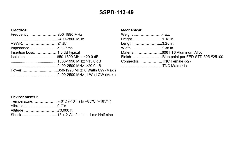 SSPD-113-49_Specs