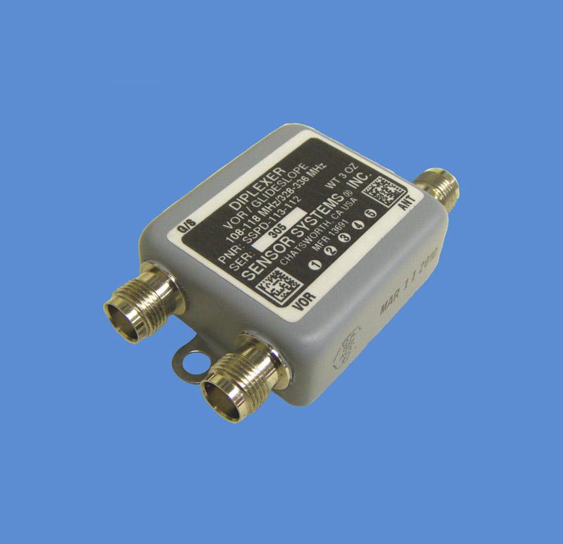 Diplexer Antenna - Sensor Systems Inc , Aircraft Antenna